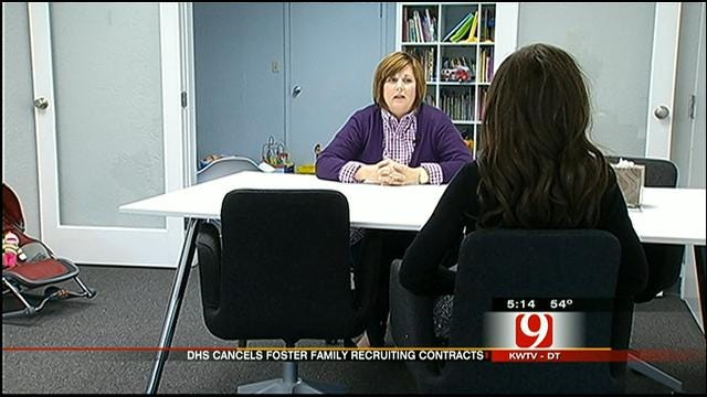 DHS Cancels 10 Foster Home Recruiting Contracts In Oklahoma