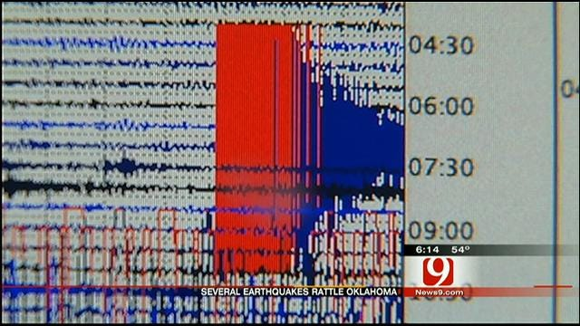 Series Of Earthquakes Rattles Central Oklahoma On Tuesday