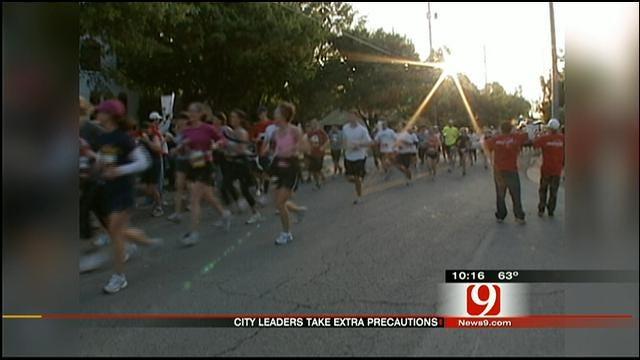 Leaders On Alert Ahead of OKC Memorial Marathon
