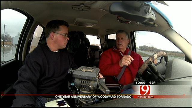 Marty Logan Speaks About Chasing Woodward Tornado