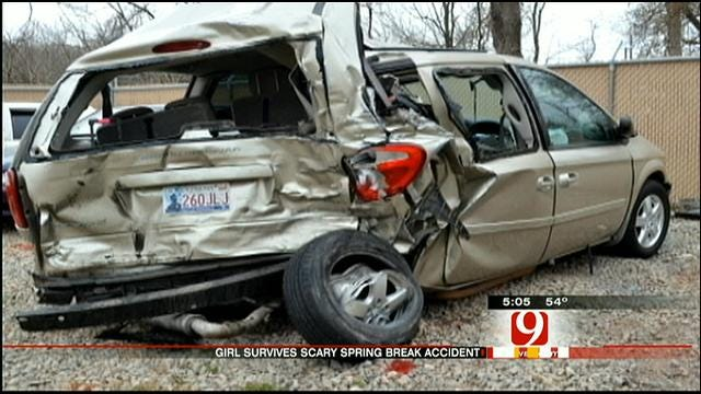 Survivor Of Spring Break Car Accident On I-44 Allowed To Go Home