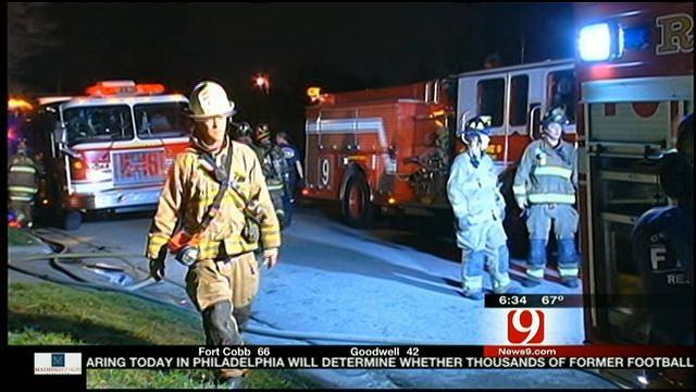 Fire Damages SE OKC House