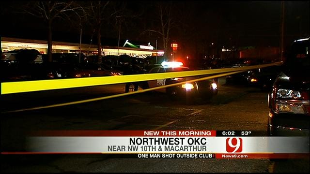 Security Guard At OKC Club Shoots Man Who Threatened Him With Gun