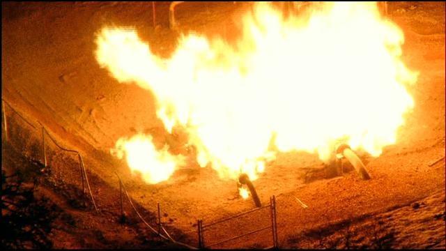 WEB EXTRA: SkyNews 9 Flies Over Logan County Gas Explosion
