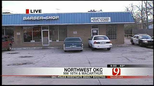 One Dead In NW OKC Shooting