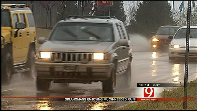 Steady Rain A Welcome Relief To Oklahomans