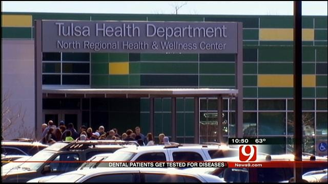 Former Patients Of Tulsa's 'Dirty Dentist' Rush To Get Tested