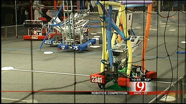 Robotics Competition Kicks Off At Cox Covention Center