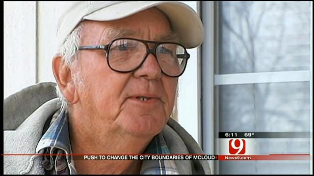 McLoud Man Running For City Council Petitions To Shrink City