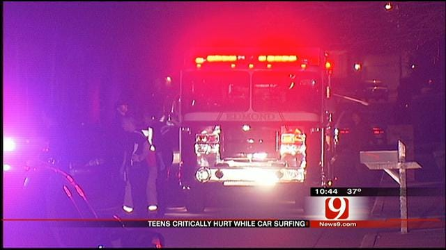 Teenage Edmond Boys Fight For Their Lives After 'Car Surfing' Accident