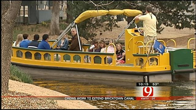 Construction On Bricktown Canal Extension Underway