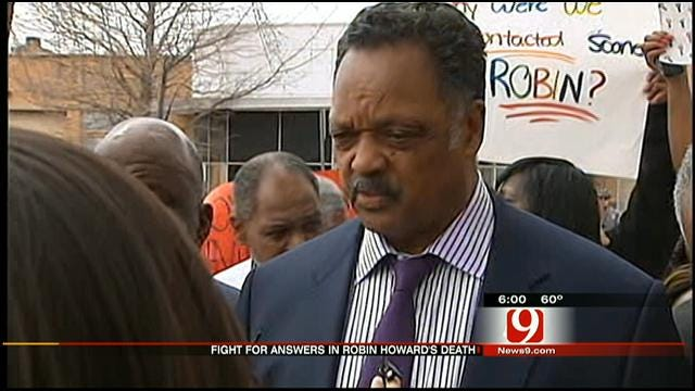 Jesse Jackson Leads Rally In OKC For Man Who Died In Police Custody