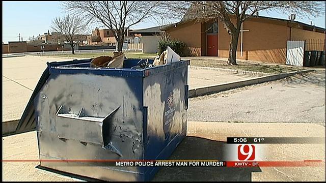 OKC Police Arrest Man Accused In Death Man Found By Dumpster