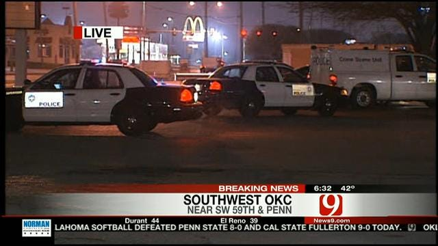 Man's Body Found Behind SW OKC Shopping Center