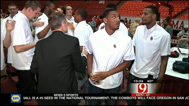 Sooners Reaction To Discovering NCAA Tournament Seed