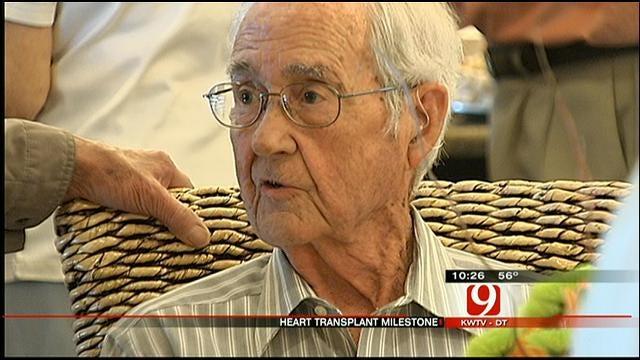 Oklahoma Man Celebrates 25th Anniversary Of Heart Transplant