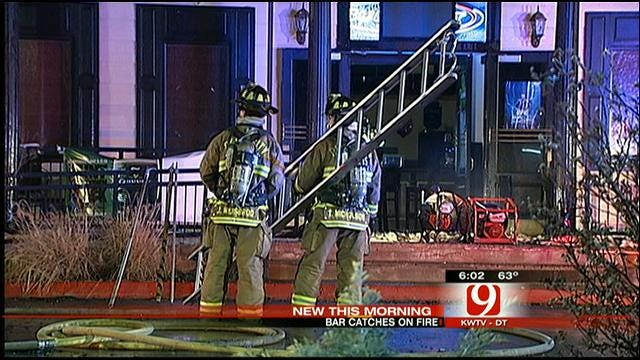 Crews Extinguish Fire At OKC 'Bikinis' Restaurant