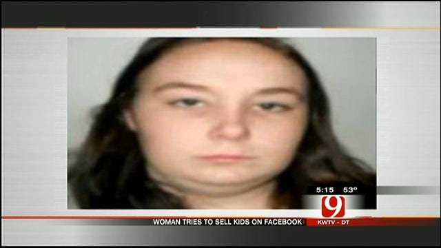 Police: Sallisaw Woman Tries to Sell Children On Facebook