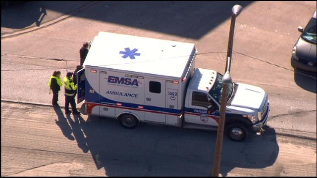 WEB EXTRA: SkyNews 9 Over Scene Of Hit-And-Run In Downtown OKC