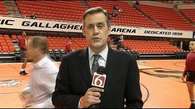 John Holcomb Wraps Up OSU's Win Over KSU