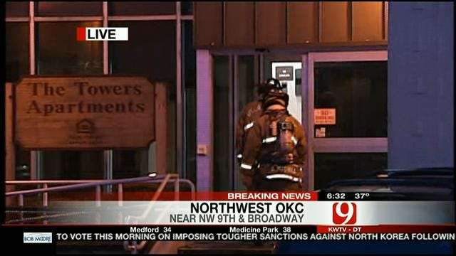 Fire At Senior Living Center In NW OKC