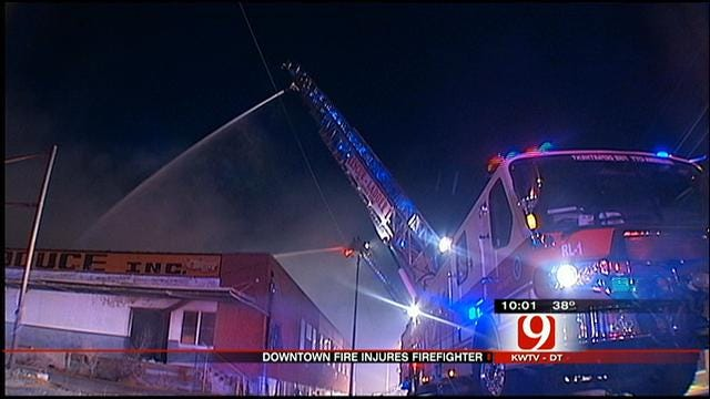 Investigators Search For Cause Of Fire At SW OKC Building