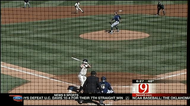 Oklahoma State Baseball Rolls On