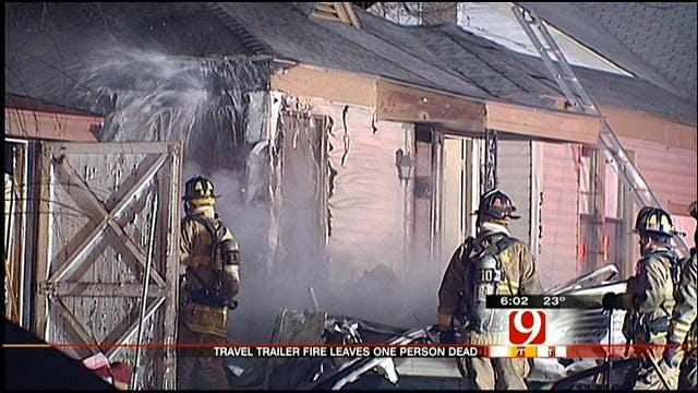 One Person Killed In Structure Fire In NW OKC