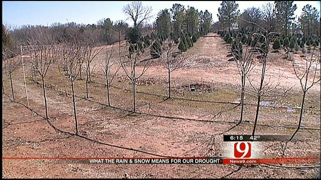Snow, Rain Bring Much-Needed Moisture To Oklahoma