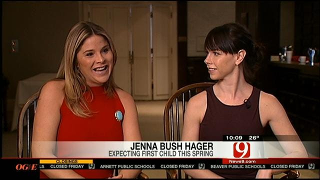 News 9's Amanda Taylor Talks With G.W. Bush's Twin Daughters