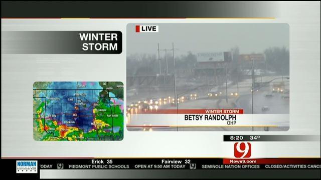 Oklahoma Highway Patrol Updates Traffic Conditions