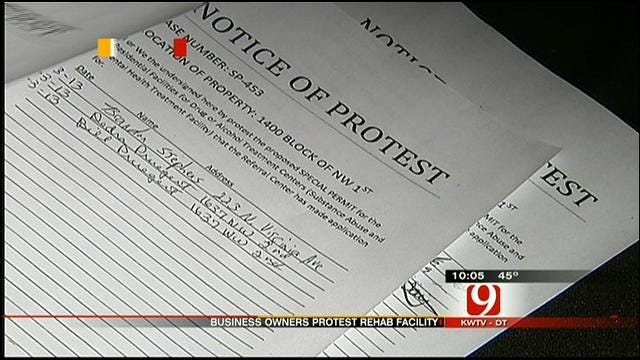 OKC Business Leaders, Residents Fight Proposed Rehab Center