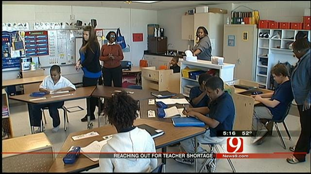 OKC Schools Report Shortage Of Special Needs Educators