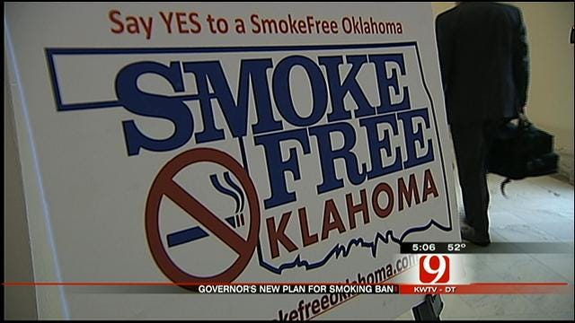 OK Governor Announces Petition Drive On Secondhand Smoke