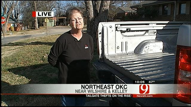 Tailgate Theft On The Rise In Oklahoma