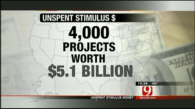 Four Years Later -- Federal Stimulus Money Still Unspent