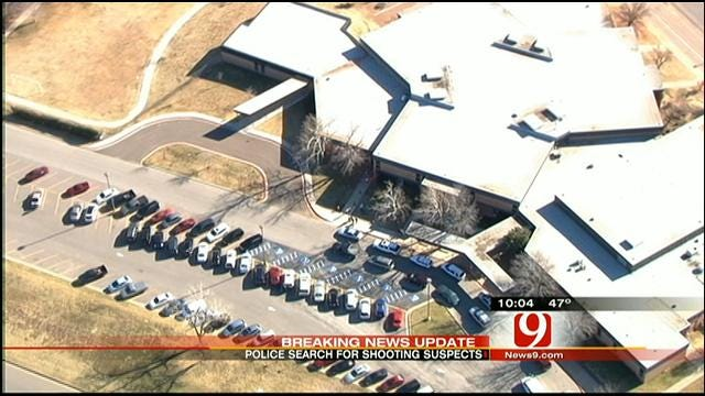 Police Search For Suspects Following NW OKC Shooting