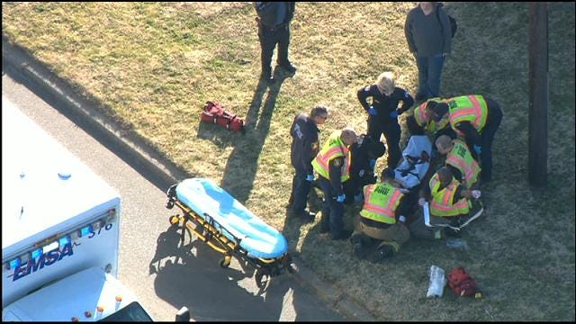 WEB EXTRA: SkyNews 9 Flies Over Bethany Hit-And-Run