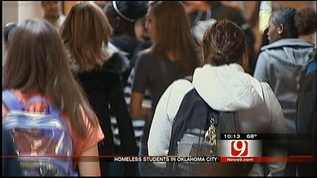 Number Of OKC Homeless Students Continues To Climb