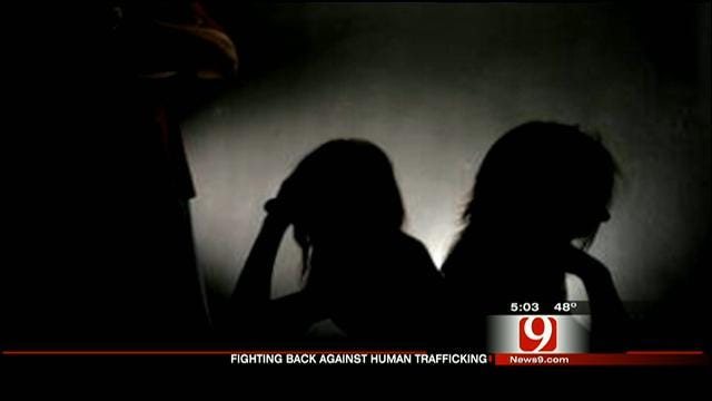 Candlelight Vigil Held At OK Capitol For Humane Trafficking Victims
