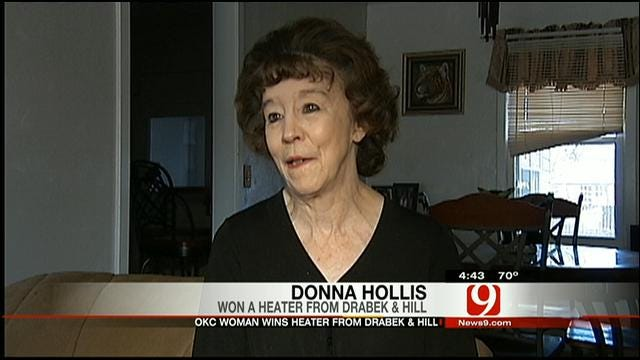 Heating Hearts: Donna Hollis Gets A New Heater