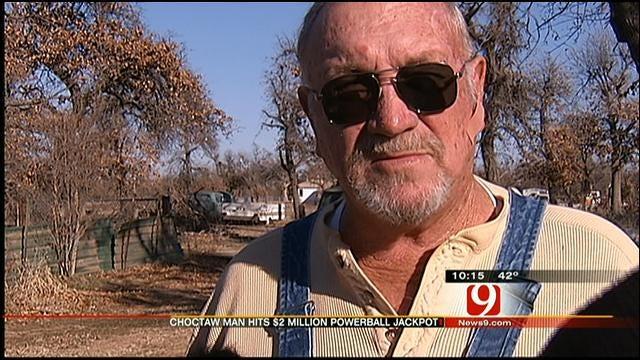 Choctaw Man Who Won $2M Powerball Jackpot Speaks To News 9