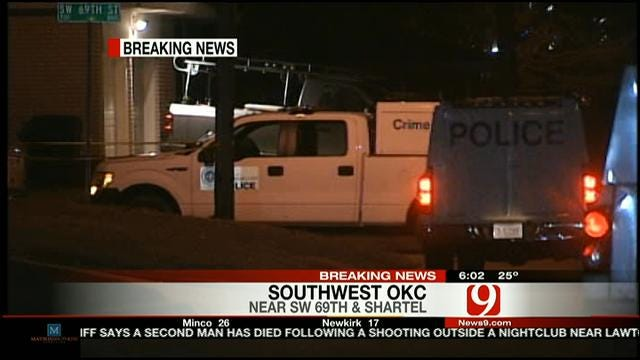 OKC Police Investigate Fatal Shooting Of House Sitter