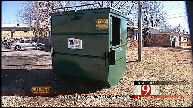 Homeless Man In Dumpster Accidentally Run Over In SW OKC