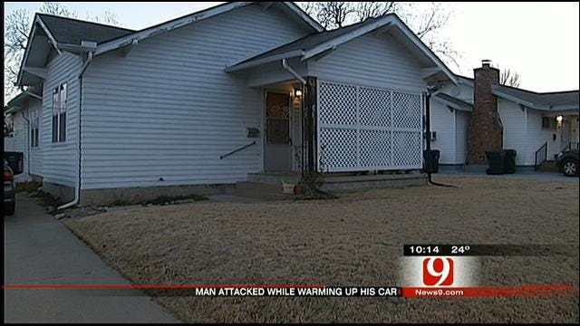OKC Man Attacked While Warming Up Car In Own Driveway