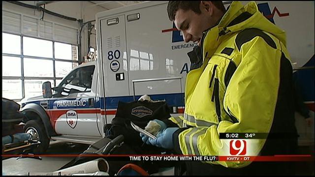 EMSA Responds To High Volume Of Flu-Related Calls In OKC
