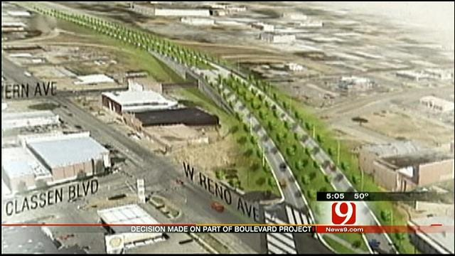 OKC Council Decides On Design For Part Of Boulevard Project