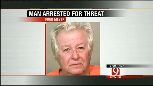 Police Arrest OKC Man For Threatening Violence After Cat's Death
