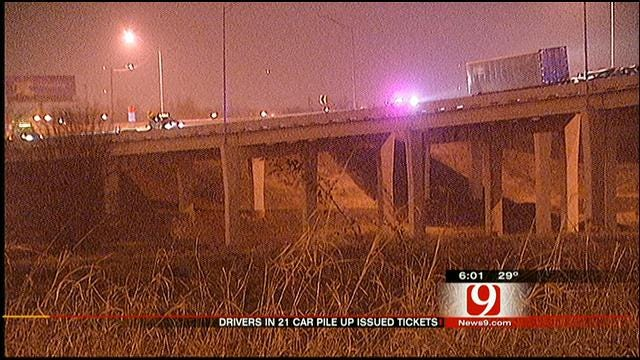OHP Fines Drivers In Christmas Morning Pile-Up