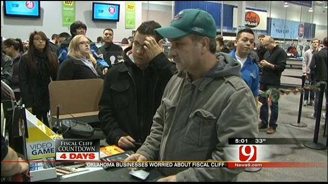 Fear Of Falling Off 'Fiscal Cliff' Impacts OKC Businesses